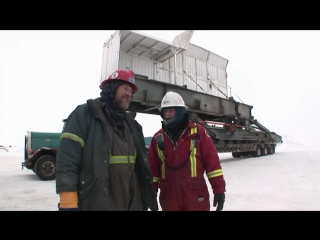 Ледовый путь дальнобойщиков 2 сезон 6 серия из 14 / Ice Road Truckers (2008) HD 720p