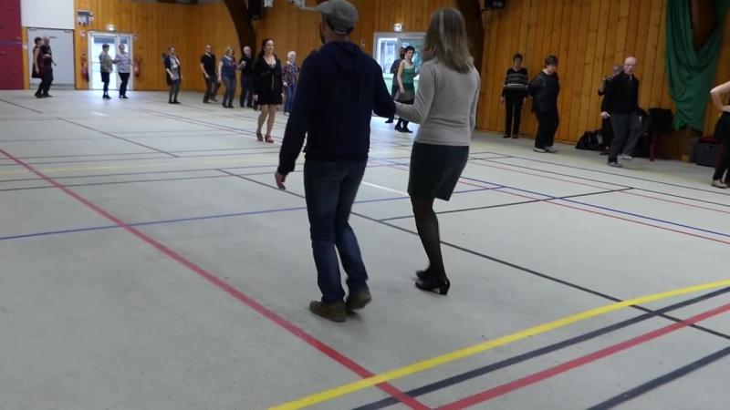 Danse bretonne - gavotte dhonneur du pays glazig
