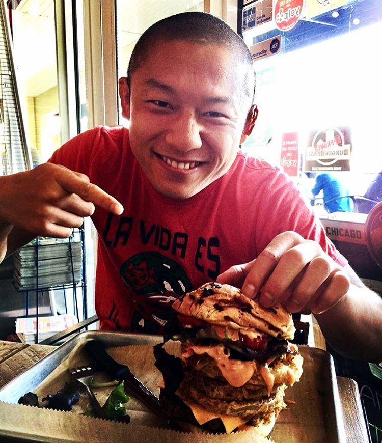 Киоджи Хоригучи: «Я люблю гамбургеры»
