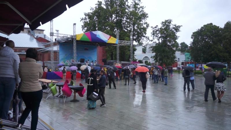 Гурцкая в дождь