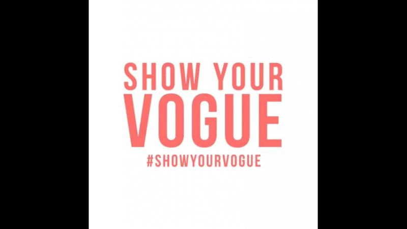Instagram: @.VogueEyewear лучше знает:настоящая красота находится внутри. Это твоя V-Side.