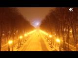 Зимний парк Горького
