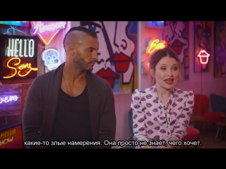 Behind the scenes with ricky whittle and emily browning - american gods+rus sub