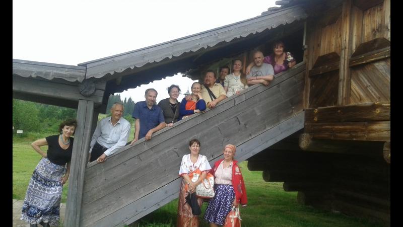 Хо́хловка — архитектурно- этнографический музей в Пермском крае. 19 июля 2017 года.