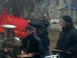 Дебальцево оркестр в честь освобождения города от укропов 28 февраля 2015 год