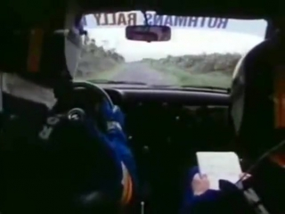 Ari Vatanen David Richards in a Ford Escort RS 1800 in 1981