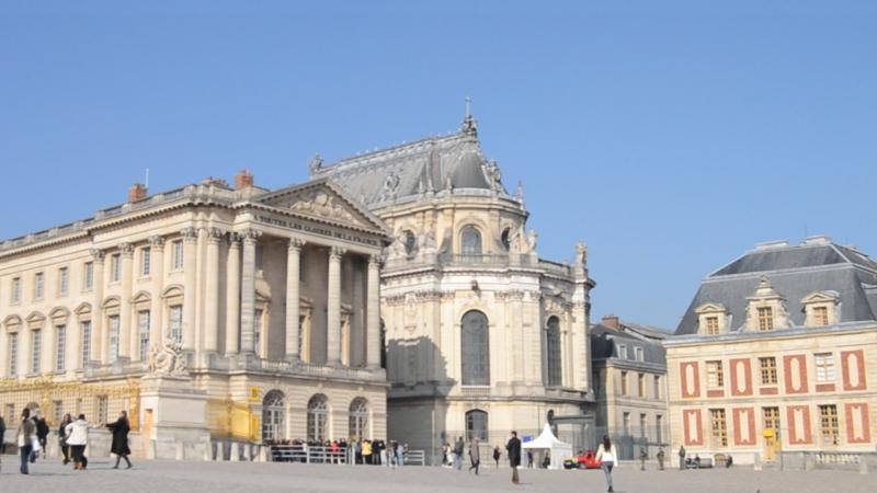 Версаль... моя первая встреча ... октябрь 2016