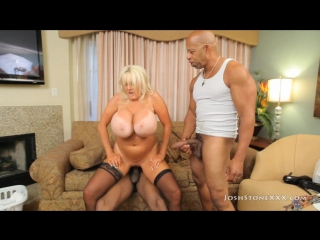 Kayla kleevage - bbc queen [hd 720, big tits, black cocks, blonde, blowjob, cumshot, facial, interracial, milf, mommy, sex]