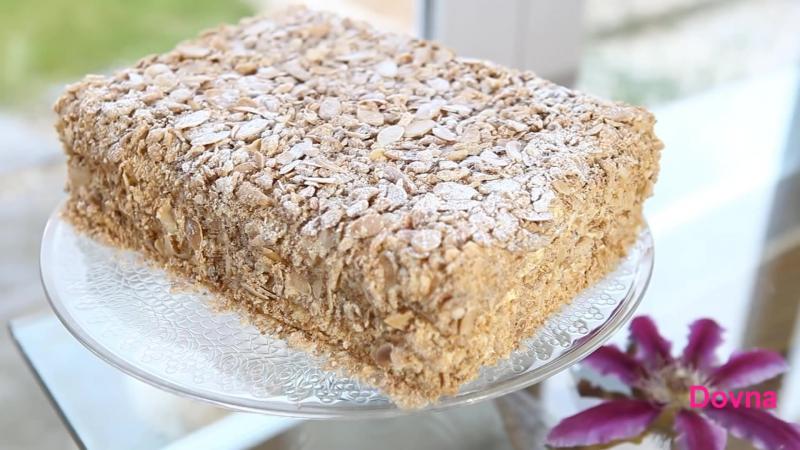 Пошаговый классический рецепт торта наполеон в домашних условиях