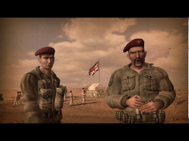 Codename Panzers – Phase Two. Allied Campaign – All Cutscenes (Russian Full HD Game Film) (2005)