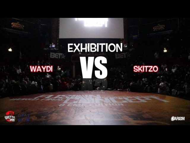 WAYDI vs SKITZO | Exhibition Battle | Fusion Concept 2017