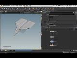 Paper Plane Tutorial - Houdini