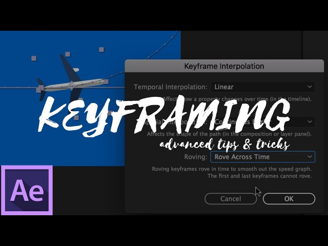 Advanced Keyframing in After Effects