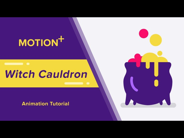 Motion - How to make a Witch Cauldron(Cooking Pot) - After Effects Tutorial
