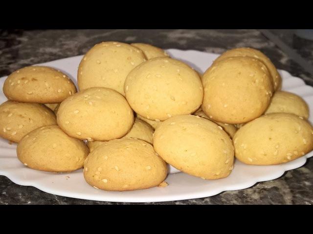 А ВЕДЬ ВКУСНО Печенье на сметане с медом без яиц на скорую руку Медовое печенье рецепт Печен