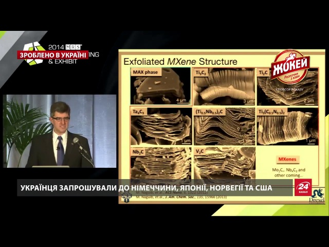 Зроблено в Україні. Юрій Гогоці – найвпливовіший науковець сучасної України