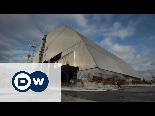 ЧАЕС під сталевою аркою безпечний конфайнмент накриє четвертий енергоблок