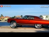 Chevy Donk 1971 Impala Custom Coupe Squattin on 30