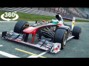 360 Video VR RACING F1 360 Gameplay [Google Cardboard VR Box 360] Project Cars VR Games 360 4K