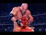 Goldberg Vs Triple H - WWE World Heavyweight Champion - WWE Unforgiven 2003 Full Match 720p HD