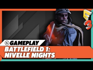 30 Minutes of Battlefield 1: Nivelle Nights Multiplayer Gameplay | EA Play at E3 2017