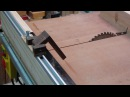 How to Make a Cross Cut Sled to Table Saw Easy Stop Block Jig