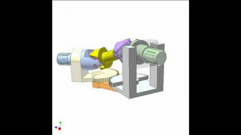 Study of double Cardan universal joint 3