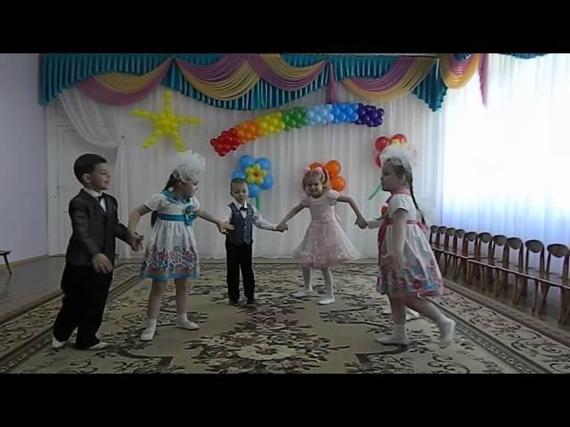 Танец дошколят Топ топ топотушки