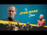 Re-creating Tarkin &amp Leia in Rogue One, Plus Star Wars Trivia...ON A ROLLERCOASTER!