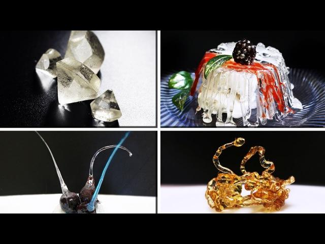 4 вида украшений из изомальта / isomalt decoration