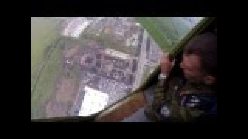 День ВДВ в Ульяновске, приземление парашютистов в парк им. Маргелова. 02.08.2013