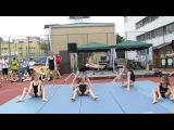 Seebacher Schulfest 2014 Akrobatik