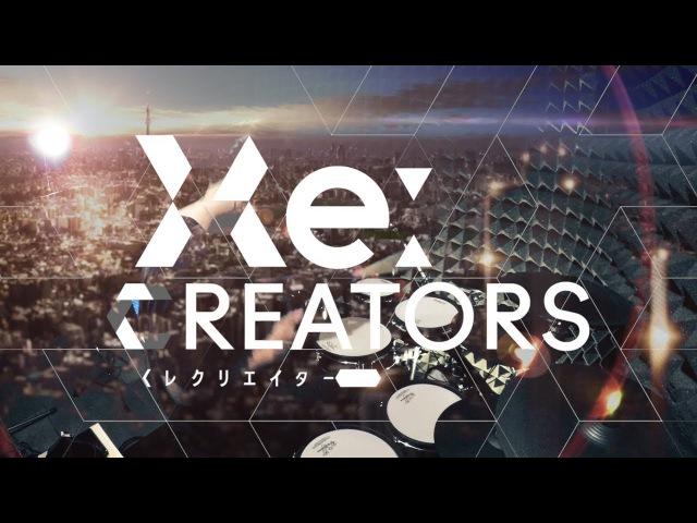 【レクリエイターズ】SawanoHiroyuki[nZk] - gravityWall を叩いてみた ReCREATORS Opening full Drum Cover