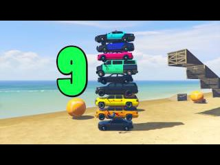 10 Numbers to Learn FBI Cars and Colors Police Cars Spiderman Cartoon and Funny Songs for Children