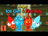 Angry Ice Girl &amp Fire Boy - Games For Kids To Play Android Gameplay Funny Videos Thinking Game