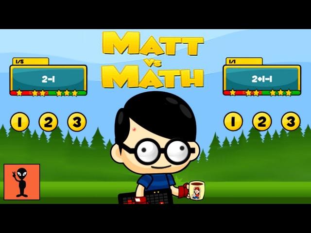 FUNNY BEST KIDS GAMES 👶 TOP BABY GAMES - Matt vs Math [FLASH]