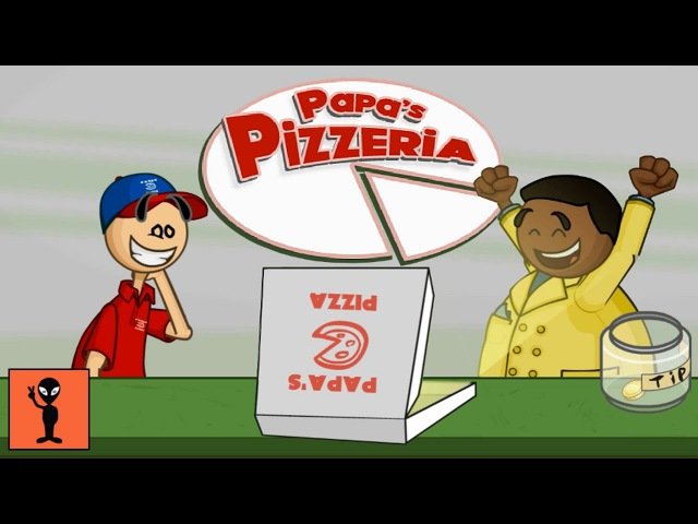 FUNNY BEST KIDS GAMES 👶 TOP BABY GAMES - Papa's Pizzeria [FLASH]