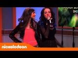 Tori y Jade cantan Karaoke  - Victorious - Mundonick Latinoam