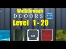 DOOORS 5 room escape game Level 1 20 Walkthrough 58 WORKS