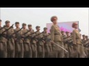 Марш армии Северной Кореи под песню Stayin Alive - Bee Gees