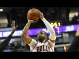 Dwyane Wade 22 Pts Highlights  Thunder vs Bulls  January 9, 2017  2016-17 NBA Season