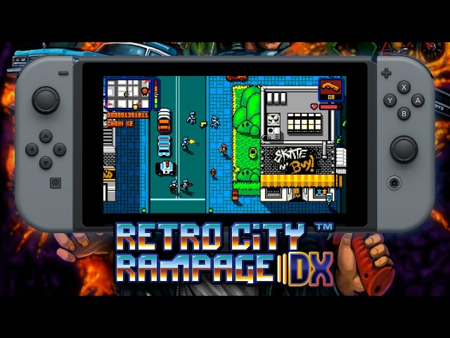 Retro City Rampage DX | Nintendo Switch Announcement Teaser