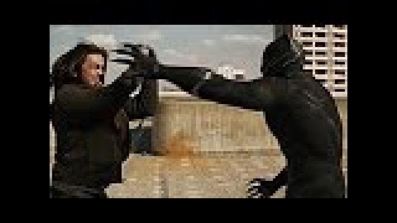Bucky vs Pantera Negra (Perseguição na Rodovia) DUBLADO HD   Capitão América Guerra Civil (2016)