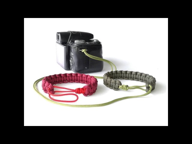 How to Make a Mad Max Style Camera Wrist Strap or Another Bracelet Version