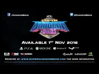 Super Dungeon Bros Launch Date Announcement | All Platforms | PEGI
