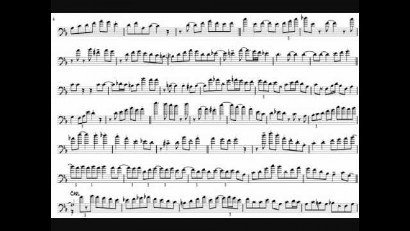 Carl Fontana Bill Watrous 'If You Were The Only Girl In The World' Trombone Solos Transcription