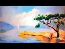 Видеоурок Шипилова. Морской пейзаж. Как нарисовать море маслом.