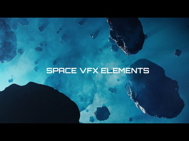 Space VFX Elements Video Course for Blender | Promo Video