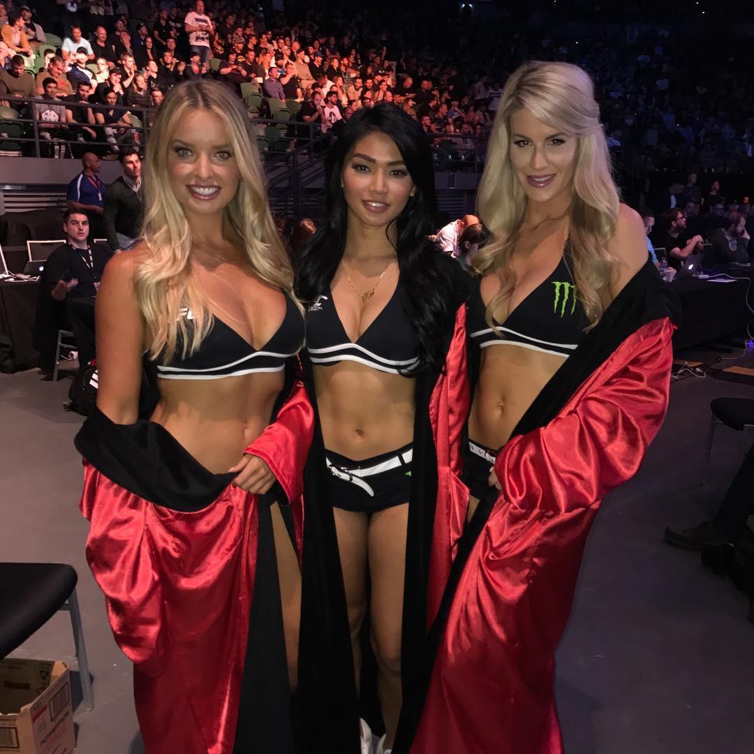 Октагон-герлс на  UFC Fight Night 101