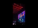Lauren at the John Mayer Concert - Instagram Story 07-25
